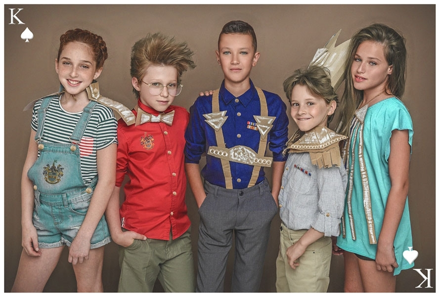 'Fashion Production 'Children of Cards