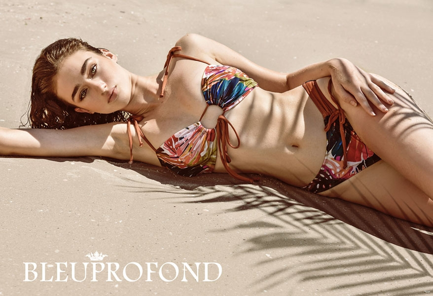 Talia.P for BleuProfond- Swimwear Production