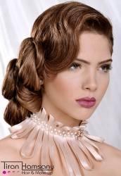 Michal.I for Tiran Hamsany Hair