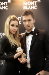 Anya.L and Leon.K for 'MONT BLANC' Israel